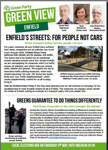 enfield newsletter april 2018